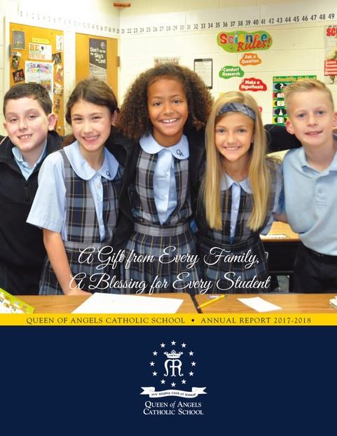 Annual Report - Queen of Angels Catholic School